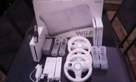 Wii NINTENDO CONSOLE WITH SPORTS GAME AND Wii FIT PLUS EXTRAS