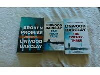 Linwood Barclay Promise Falls Trilogy books x 3