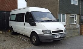 Ford van 7 seats converted mini removed seats avaliable if required - non runner