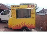 mobile catering caravan