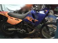 KTM 640 ADVENTURE V REG