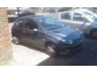 Peugeot 206 cash today amazing deal very cheap car 1st time car or even to part exchange