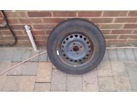 Wheel & tyre from Toyota Starlet