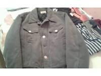 Armani casual jacket size 40 med
