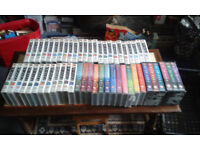 VHS Video tapes Friends series 1 to 9 - 6 tapes per series - 212 episodes. es