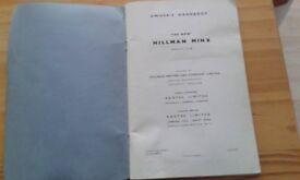 Hillman minx hand book