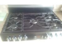 Lesuire cookmaster range cooker.