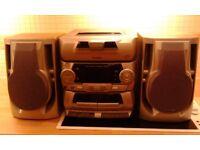 Aiwa 5 cd hifi music system