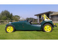Robin Hood 2B Kit Car (looks like a Caterham or Westfield) Road Legal with V5