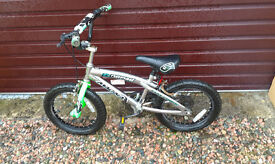 Kids BMX type bike