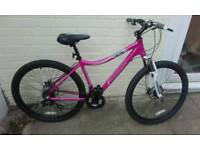 Ex demo ladies pink ford ranger mountian bike other bikes available