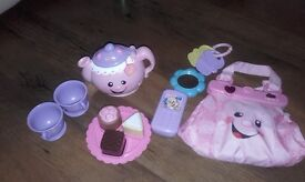 Sing and learn teapot. Singing bag