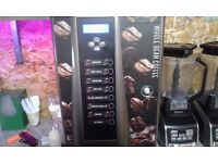 Comercial hot drinks dispencer 1 moth old hot chocolate all coffees cost 1200 sell for 400