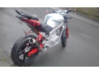 HYOSUNG GT125R LEARNER LEGAL!