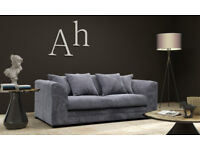 **1 YEAR WARRANTY!**- Dylan Corner Sofa Suite or 3 and 2 Set - EXPRESS DELIVERY