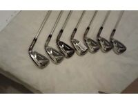Taylormade m2 tour irons stiff shaft new 4-pw
