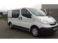 2011 (61) Vauxhall Vivaro Crew/Day Van