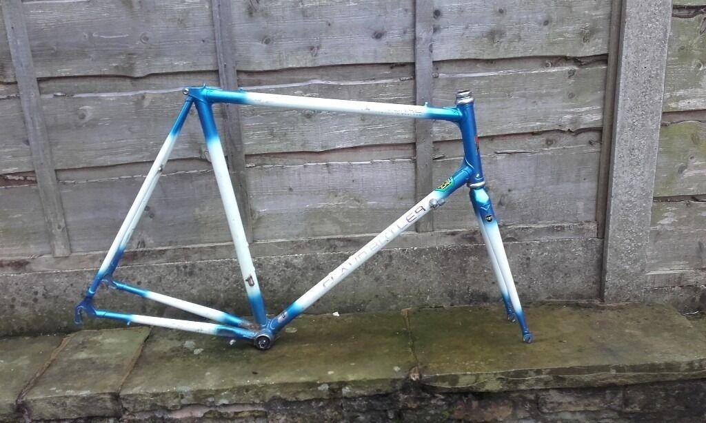 Reynolds 853 road bike frame - Claud Butler Professional - webbed ...