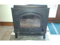 Morso Dove Multi Fuel Stove with back boiler excellent condition ready for collection