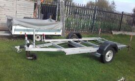 10 foot x 5 foot galvanised quad trailor