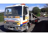 Iveco Tector 75E17 twindeck recovery truck