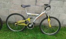 Mountain bicycle mono shock