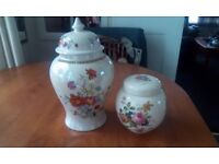 2 candy jars