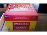 ONLY FOOLS and HORSES box set. As new. All 7 series plus more