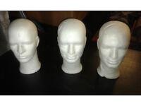 polystrene heads