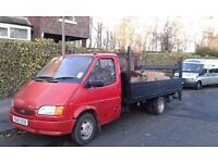 Ford transit 15ft double dropside with taillift