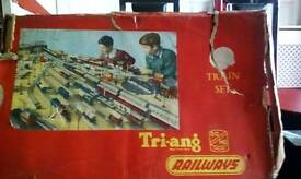 Hornby triang train set