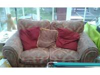 FREE 2 seater sofa much loved but still