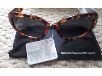New Ladies Sunglasses With Case