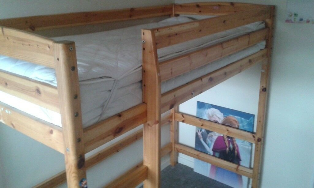 Pine High Sleeper Single Bed In Hull East Yorkshire Gumtree