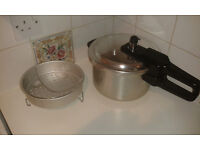 Tower Pressure Cooker 4L + accessories. Full working condition. (Ebay: £29.99). All money to charity