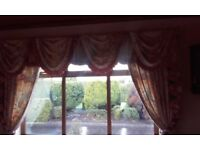2 curtain sets in excellent condition for sale