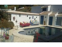 Villa 3 bed/2 bathrooms and pool in Competa costa del sol Spain