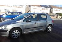 Quick sale! Reduced!! Peugeot 307 1.6 Automatic