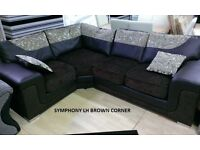 Corner sofa or 3+2 sofas - Each settee guaranteed! TV Bed / Beds also!!