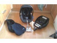 Maxi cosi car seat bundle