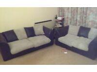 Selling my sofas, Beko washing machine A+, Beko fridge freezer, coffee centre table, mattress etc