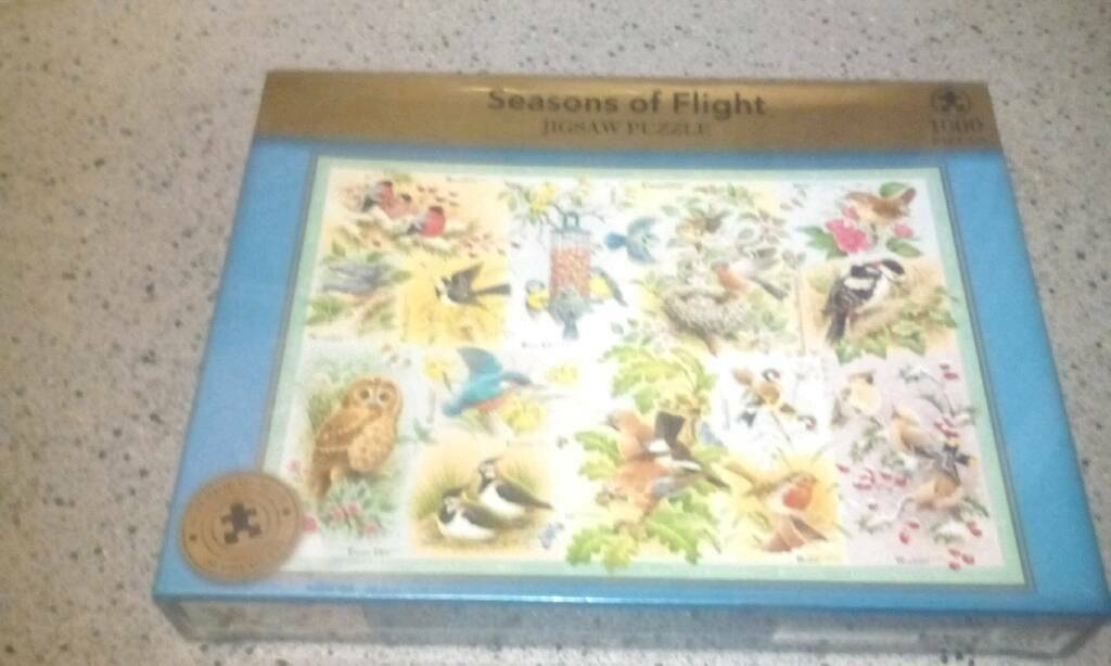 "Jigsaw puzzle"" season of flight"""