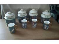 storage jars/mugs
