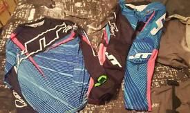 Motorcross clothing.