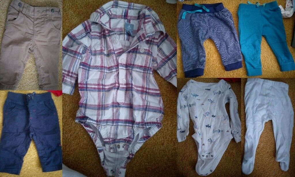 3-6 months baby boy winter bundle with coats