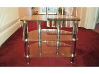 High Quality Kenmark Glass TV Stand