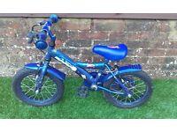 Boys Apollo Spaceman Bike 14 Inch Wheels
