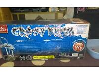Crazy drum Nintendo Wii and PlayStation drum kit