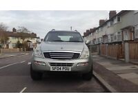 Rexton 4 x 4 ideal for winter not pajero ,hilux ,navara ,surf ,jeep , range rover