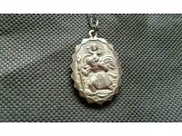 Silver St.Christopher Necklace